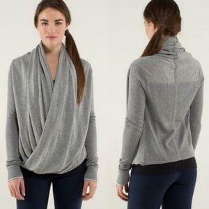 Lululemon Iconic Sweater Wrap Heathered